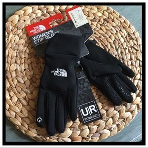 NWT The North Face Women's Etip Gloves